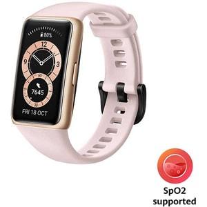 Bratara fitness HUAWEI Band 6, Android/iOS, silicon, Sakura Pink