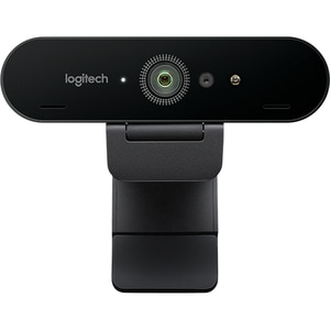 Camera Web LOGITECH Brio Stream, 4K Ultra HD, Infrared, negru
