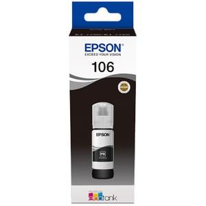Cerneala EPSON 106 EcoTank Photo C13T00R140, negru