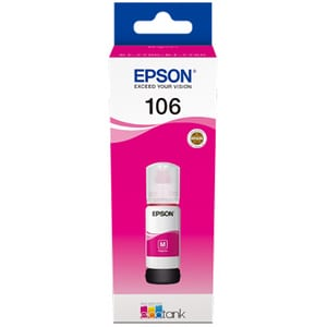 Cerneala EPSON 106 EcoTank C13T00R340, magenta