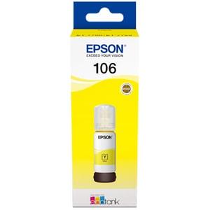 Cerneala EPSON 106 EcoTank  C13T00R440, galben