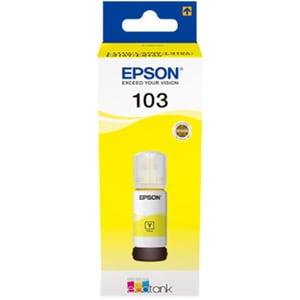 Cerneala EPSON 103 EcoTank C13T00S44A, galben