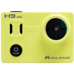 Camera video sport MIDLAND H9, 4K, Wi-Fi, negru-galben