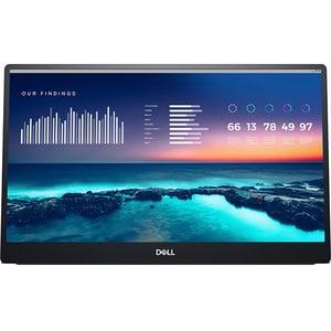 "Monitor portabil LED IPS DELL C1422H, 14"", Full HD, 60Hz, argintiu"