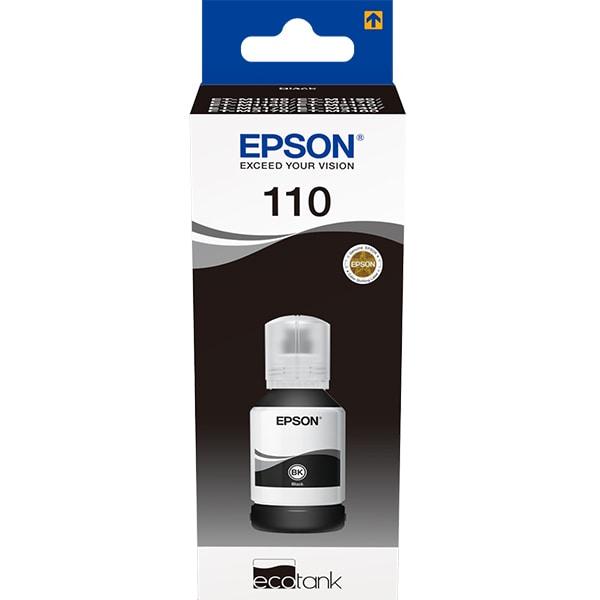Cerneala EPSON 110 EcoTank C13T03P14A, negru