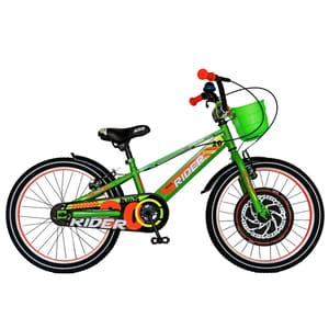 "Bicicleta copii CARPAT C2007C, 20"", verde-portocaliu"