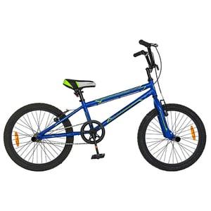 "Bicicleta model bmx CARPAT Rocker C2018A, 20"", albastru-verde"