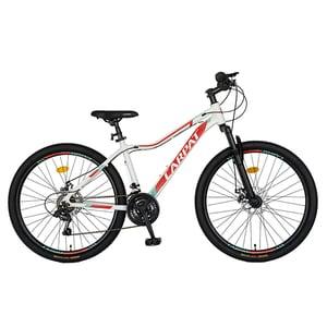 """Bicicleta MTB CARPAT C2652AAR, 26"""", cadru aluminiu, alb-rosu"""