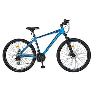 """Bicicleta MTB CARPAT C2658CAN, 26"""", cadru aluminiu, albastru-negru"""