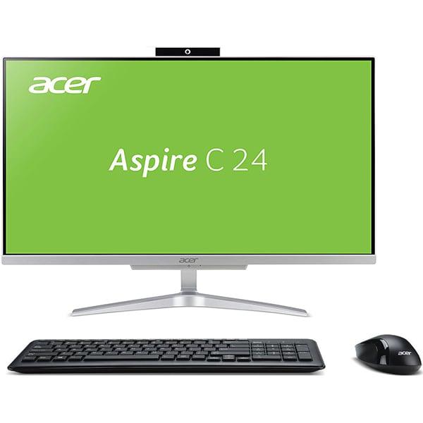 "Sistem PC All in One ACER Aspire C24-865, Intel Core i5-8250U pana la 3.4GHz, 23.8"" Full HD, 8GB, SSD 256GB, Intel UHD Graphics 620, Linux"