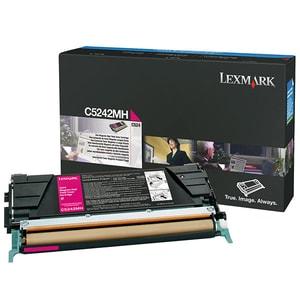 Toner LEXMARK XL C5242MH CTG C524, magenta