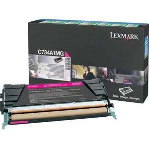 Toner LEXMARK C734A1MG C734/6 Return Program, magenta