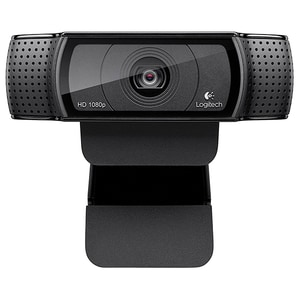 Camera Web LOGITECH HD Pro C920, Full HD 1080p, negru
