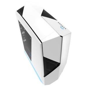 Carcasa NZXT Noctis 450, USB 3.0, fara sursa, alb