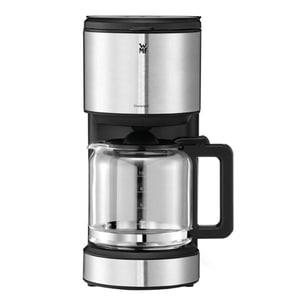 Cafetiera WMF Stelio 412150011, 1.25l, 1000W, argintiu-negru