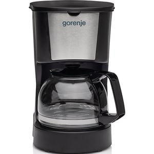 Cafetiera GORENJE CM06BK, 0.6l, 800W, negru-argintiu