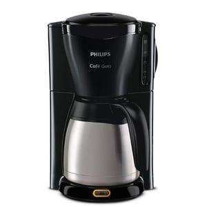 Cafetiera PHILIPS Cafe Gaia HD7544/20, 1.2l, 1000W, negru-argintiu