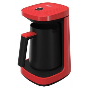 Aparat cafea turceasca BEKO TKM2940K, 0.26l, 600W, rosu-negru