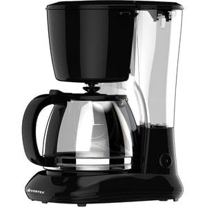 Cafetiera VORTEX VO4012, 1.25l, 750W, negru