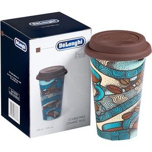 Cana DE LONGHI 5513281021, 0.3l, ceramica, albastru