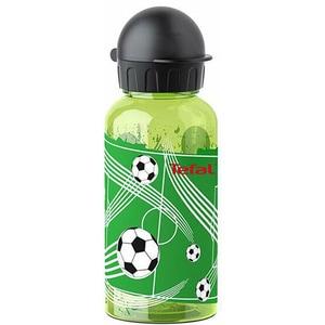 Sticla apa pentru copii TEFAL Tritan Fotbal K3170314, 0.4l, sticla, verde