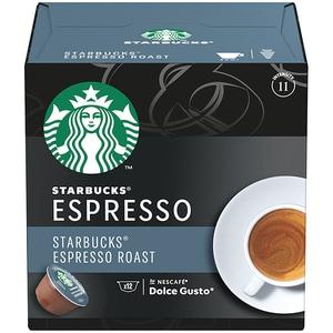 Capsule cafea STARBUCKS Espresso Roast compatibilitate cu Nescafe Dolce Gusto 12451730, 12 capsule, 66g