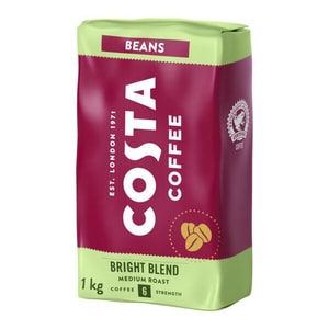 Cafea boabe COSTA COFFEE Bright Blend 30179, 1000g