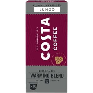 Capsule cafea COSTA COFFEE Warming Blend Lungo compatibilitate cu Nespresso, 10 capsule, 57g
