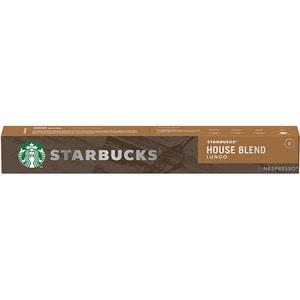 Capsule cafea STARBUCKS House Blend Lungo compatibilitate cu Nespresso 6200099, 10 capsule, 57g
