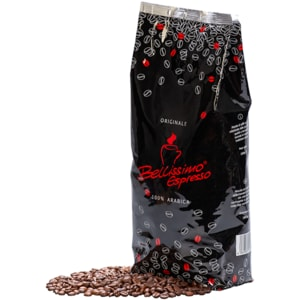 Cafea boabe BELLISSIMO 100% Arabica CAF0006, 1000g