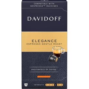 Capsule cafea DAVIDOFF Elegance Espresso Gentle Roast, 10 capsule, 55g