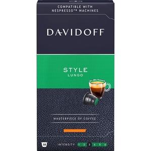 Capsule cafea DAVIDOFF Style Lungo, 10 capsule, 55g