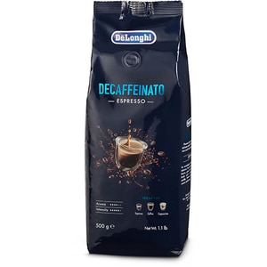Cafea boabe DE LONGHI Decaffeinato Espresso AS00000179, 500g