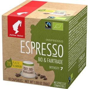Capsule cafea JULIUS MEINL Espresso Bio&Fairtrade 93363, 10 capsule, 56g