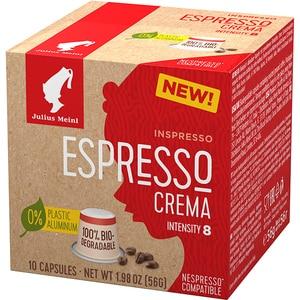 Capsule cafea JULIUS MEINL Espresso Crema 94029, 10 capsule, 56g