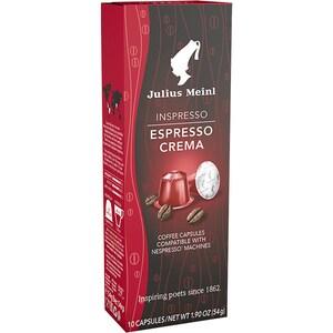 Capsule cafea JULIUS MEINL Inspresso Espresso Crema 84593, 10 capsule, 55g