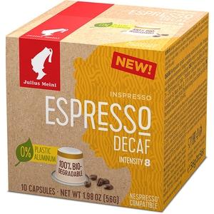 Capsule cafea JULIUS MEINL Espresso Decaf 94033, 10 capsule, 56g