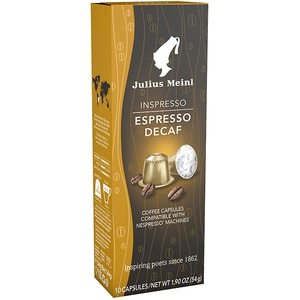 Capsule cafea JULIUS MEINL Inspresso Espresso Decaf 84592, 10 capsule, 53g
