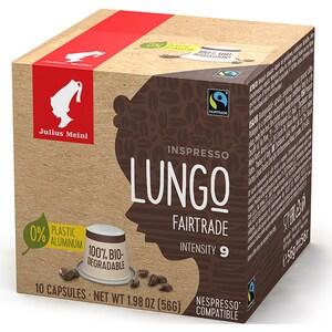 Capsule cafea JULIUS MEINL Lungo Fairtrade 93364, 10 capsule, 56g