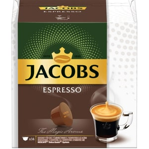 Capsule cafea JACOBS Espresso 4028571, 14 capsule, 84g