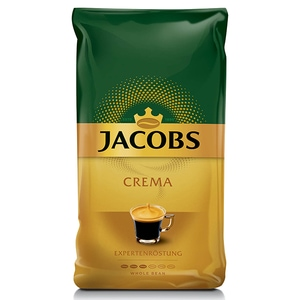 Cafea boabe JACOBS Crema, 1000g