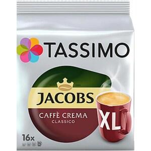 Capsule cafea JACOBS Tassimo Cafe Crema XL, 16 capsule, 132.8g
