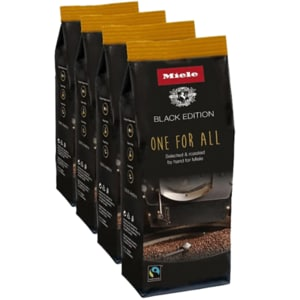 Cafea boabe MIELE Black Edition One For All 11029990, 4 x 250g