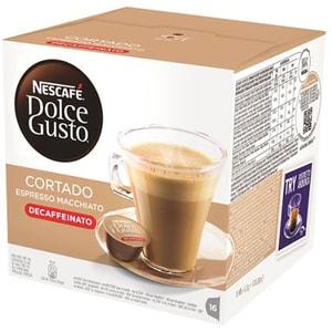 Capsule cafea NESCAFE Dolce Gusto Cortado Espresso Decaff, 16 capsule, 99.2g