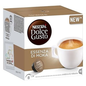 Capsule cafea NESCAFE Dolce Gusto Essenza Di Moka, 16 capsule, 144g