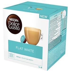 Capsule cafea NESCAFE Dolce Gusto Flat White, 16 capsule, 187.2g
