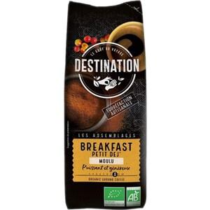 Cafea macinata DESTINATION Breakfast Bio NV000004, 250g