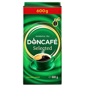 Cafea macinata DONCAFE Selected 303712, 600g