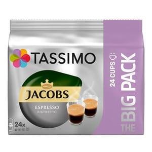 Capsule cafea JACOBS Tassimo Ristretto Big Pack, 24 capsule, 192g
