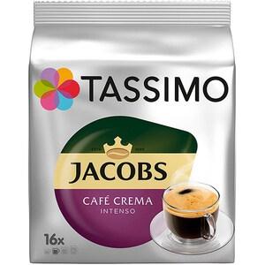 Capsule cafea JACOBS Tassimo Cafe Crema Intenso, 16 capsule, 132.8g
